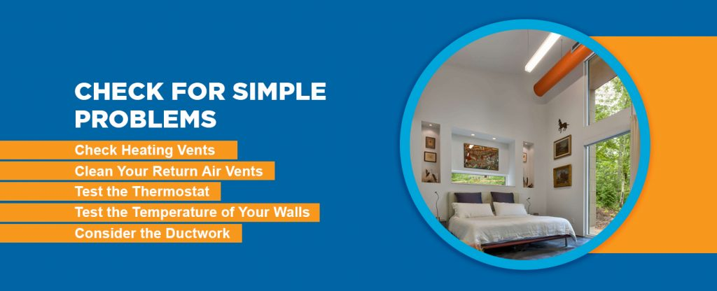 Check Your Home For Simple Problems Like Heating Vents Air Thermostats Temperature