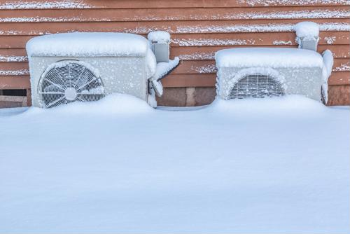 Recent heat pump models can still be efficient in the winter.