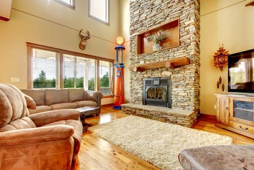 Converting your wood fireplace to gas can improve your home health quality.