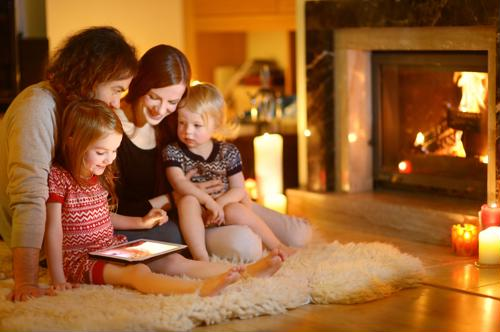 Gas fireplaces require annual inspections and tune-ups.