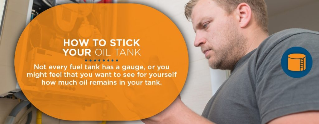 How to Stick Your Oil Tank