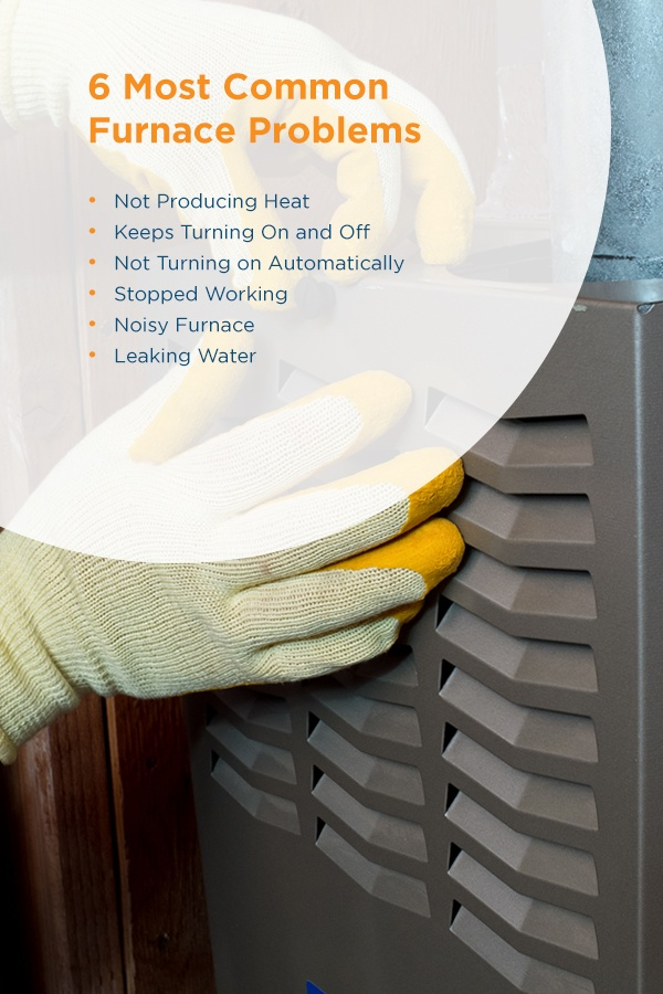 6 Most Common Furnace Problems
