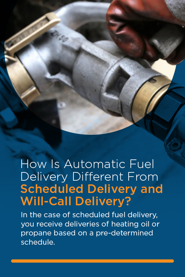 Scheduled Fuel Delivery Vs. Will-Call Fuel Delivery
