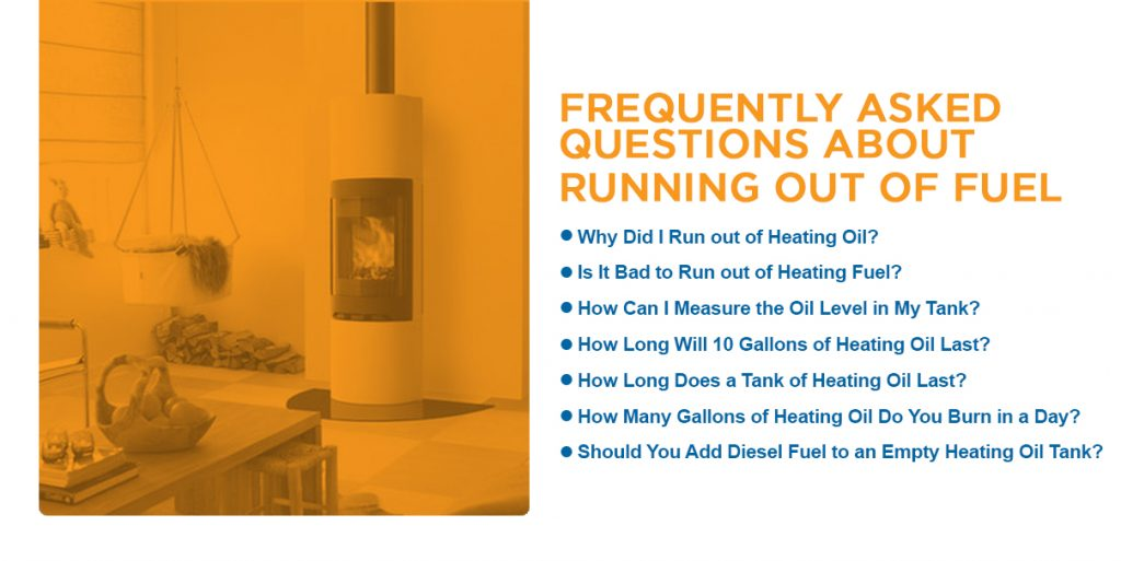 Running Out Of Heating Oil
