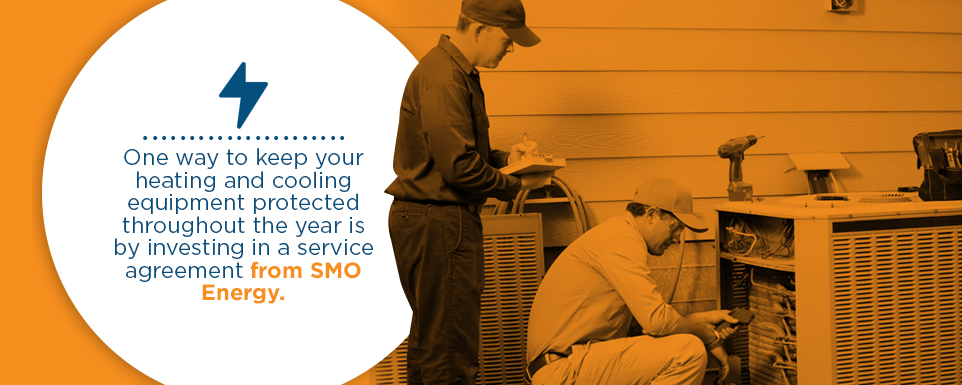 Receive a Tune-Up and Protection With a Service Agreement From SMO Energy