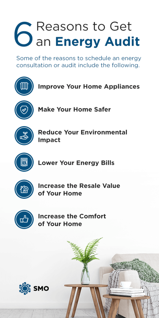 6 reasons to get an energy audit