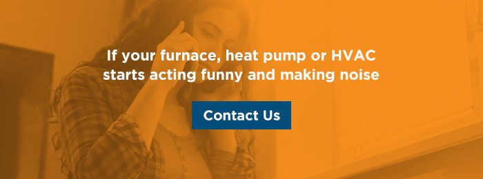 Contact SMO Energy if you hear strange noises coming from your HVAC system